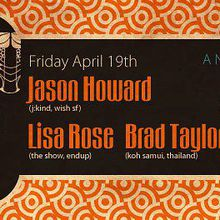 Suono: Jason Howard, Lisa Rose, Brad Taylor