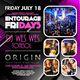 Entourage Friday DJ Wes Wes & Tonesol