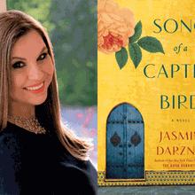 JASMIN DARZNIK with DONIA BIJAN at Books Inc. Palo Alto