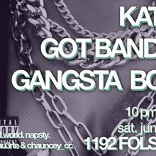 SUS w/ Gangsta Boo (THREE 6 MAFIA) & Katie Got Bandz (CHI)