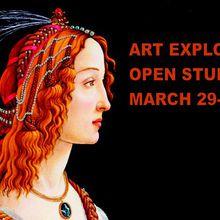 Art Explosion Spring Open Studios 2019