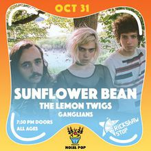 NOISE POP'S 25 TO 25 with SUNFLOWER BEAN