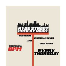 Hyde St. Comedy Night