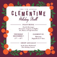 ClemenTime Holiday Stroll