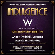 INDULGENCE Soiree | 11.19.16