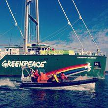 Tour Greenpeace's Ship - The Rainbow Warrior