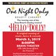 """One Night Only benefit cabaret with """"Hello Dolly"""" cast"""