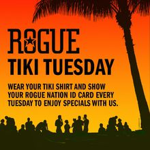 Rogue Ales Tiki Tuesday