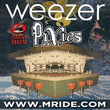 Weezer Party Bus to Shoreline Amphitheater