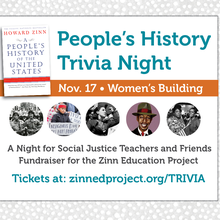 People's History Trivia Night: A Night for Social Justice Teachers and Friends