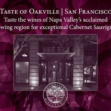 Taste of Oakville San Francisco