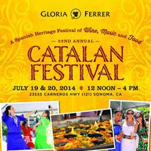 Gloria Ferrer Caves and Vineyards 22nd Annual Catalan Festival