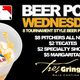 Beer Pong Wednesdays