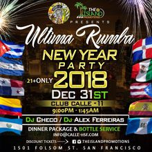 Welcoming 2018 New Years Eve Rumba!