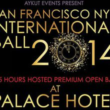 NYE International Ball 2014 at Magnificent PALACE Hotel | HOSTED PREMIUM OPEN BAR