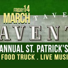 St. Patrick's Day Alley Party Friday March 14th at Taverna Aventine