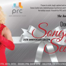 Donna Sachet's 25th Anniversary Songs of the Season, benefiting PRC/AIDS Emergency Fund