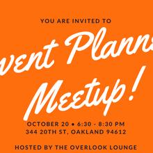 Event Planner Meetup