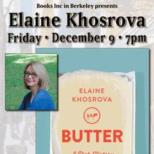 ELAINE KHOSROVA at Books Inc. Berkeley