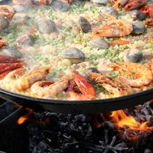 A Paella Party!