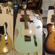 SF Guitarworks Custom Guitar Building Workshop