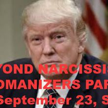 Beyond Narcissistic Womanizers - Singles Party for Women Who Prefer Donald Trump Opposites