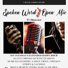 1st Tuesday's Spoken Word