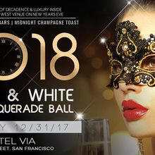Black & White NYE Masquerade Ball