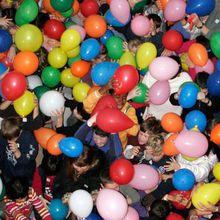 Balloon Drop Celebration
