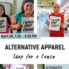 Shop For A Cause at Alternative Apparel in Hayes Valley