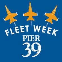 PIER 39's Fleet Week Celebration