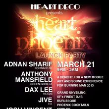Heart Deco: Heart Phoenix Launch Party