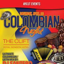 Colombian Party / CLIFT HOTEL / Aykut Events