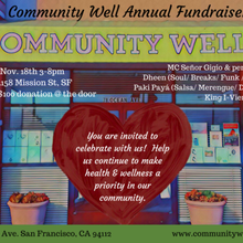 Community Well's 2nd Annual Fundraiser