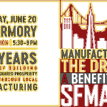 Manufacturing the Dream, a benefit for SFMade