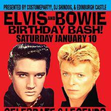 Bowie & Elvis Birthday Bash