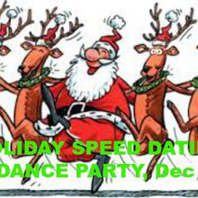 Holiday Speed Dating & Singles Dance Party