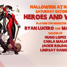 Heroes and Vixens - Harlot Halloween featuring DJ Ryan Lucero and Marcellus