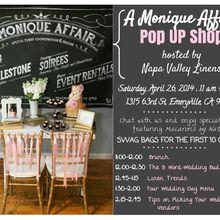A Monique Affair: Pop Up Shop