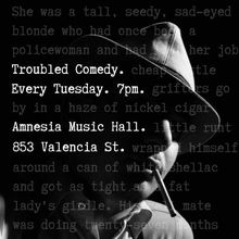Troubled Comedy at Amnesia Bar