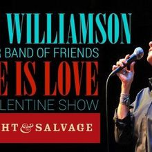 Cris Williamson and Her Band of Friends LOVE is LOVE: The Valentine Show