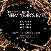 2019 Love Propaganda New Years Open Bar Tickets