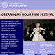 Opera in an Hour Film Festival