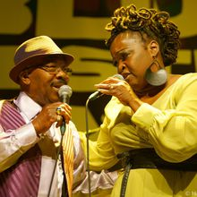 TERRIE ODABI W/ WEE WILLIE WALKER