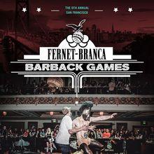 Fernet-Branca Barback Games San Francisco 2015