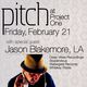 PITCH Presents, DJ Jason Blakemore