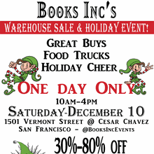 Warehouse Sale & Holiday Event!