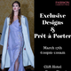 Fashion Community Week: Exclusive Designs And Pret-A-Porter show