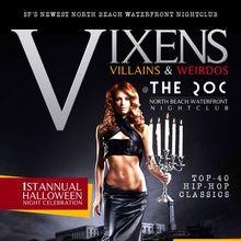 Vixens, Villians & Wierdos - RSVP For FREE Admission
