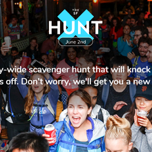 The SF Hunt (an all-day, city-wide scavenger hunt!)